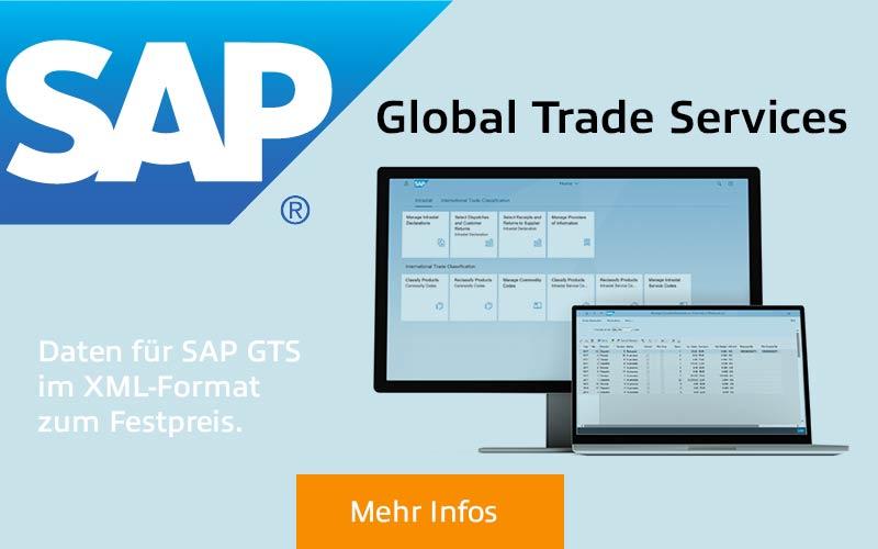 SAP GTS Banner